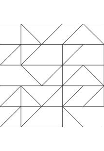 Papel De Parede Stickdecor Adesivo Geométrico Linhas 100Cm L X 300Cm A