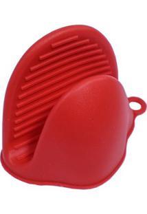 Pegador De Silicone 10Cm Kenya Vermelho