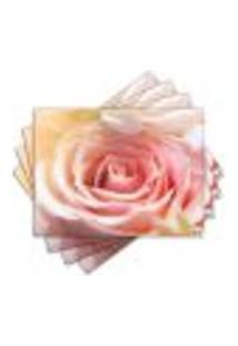 Jogo Americano - Flor Com 4 Peças - 790Jo