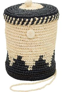 Nannacay Bolsa Bucket 'Toquilla' - Bege