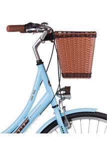 Cesta Mobele Cestinha Para Bicicleta Retrô Vintage Com Engate Universal