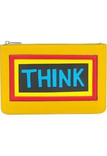 Fendi Bolsa Carteira 'Think' - Amarelo