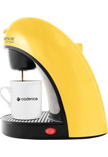 Cafeteira 2 Cafés Amarela 220V Cadence