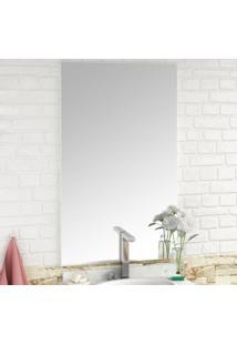 Espelho De Banheiro Pietra 60Cm - Bosi Elare