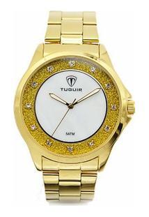 2ac081800 R$ 139,94. Zattini Relógio Feminino Dourado Analógico Anadigi Digital ...