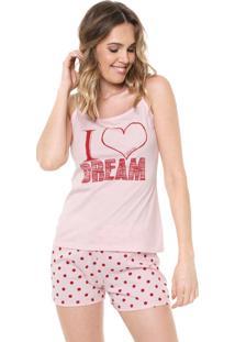 Short-Doll Malwee Liberta I Love Dream Rosa