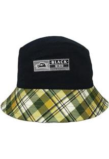 Chapéu Black Bird Bucket Hatsthb 6Fp Unissex - Unissex-Preto+Amarelo