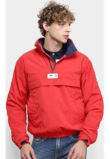 Jaqueta Tommy Jeans Lisa Masculina - Masculino-Vermelho