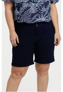 Bermuda Feminina Jeans Ciclista Plus Size Marisa