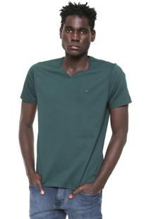 Camiseta Aramis Regular Fit Lisa Verde