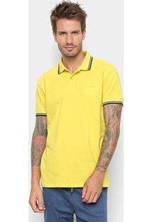 Camisa Polo Colcci Básica Masculina - Masculino-Amarelo