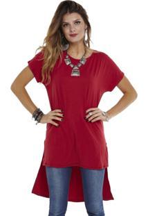 Blusa Manola Mullet Vermelha