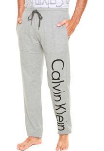Calça De Pijama Calvin Klein Underwear Id Cinza