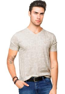 Camiseta Tony Menswear Estampada Branca