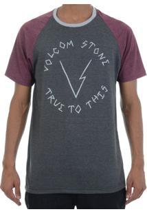 Camiseta Volcom Volter Raglan - Masculino