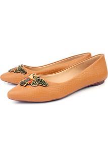 Sapatilha Trivalle Shoes Libélula Nude