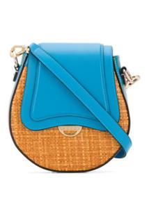Emilio Pucci Bolsa Transversal Color Block - Azul