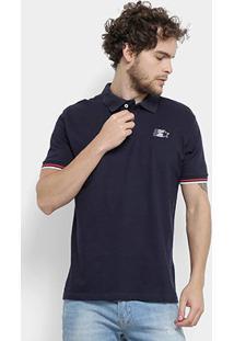 Camisa Polo Starter Bicolor Masculina - Masculino
