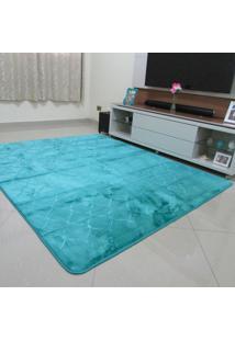 Tapete Aveludado 3D Estampado Tiffany 2,00X2,50M Home Têxtil