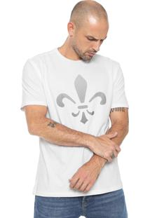 Camiseta Dudalina Maxi Logo Branca
