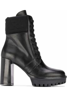 Karl Lagerfeld Ankle Boot Voyage Iv - Preto
