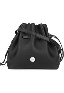 Bolsa Anacapri Mini Bag Med Floater Bag Feminina - Feminino-Preto