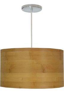 Pendente Avelis Redondo Bamboo