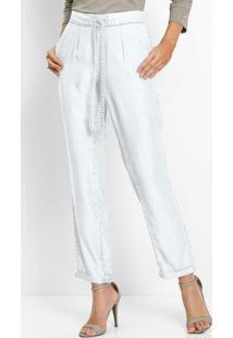 Calça Jeans Comfort Branca