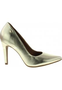 Sapato Sara Cristina - Feminino-Dourado