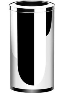 Lixeira Brinox Decorline Prata