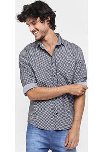 Camisa Sommer Mini Print - Masculino