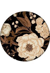 Tapete Love Decor Redondo Wevans Flor 84Cm