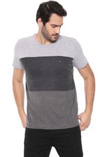 Camiseta Aramis Block Cinza