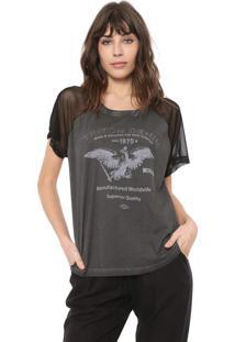 Camiseta Triton Tule Rock Grafite