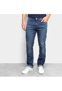 Calça Jeans Lacoste Slim Masculina - Masculino