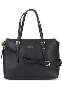 Bolsa Santa Lolla Handbag Feminina - Feminino-Preto
