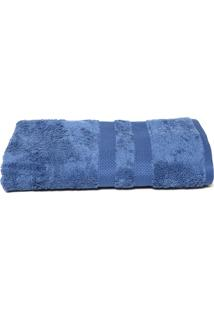 Toalha De Banho Karsten Elegance Egipto Classic 70X140Cm Azul