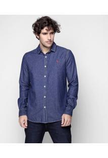 Camisa Reserva Índigo - Masculino-Jeans