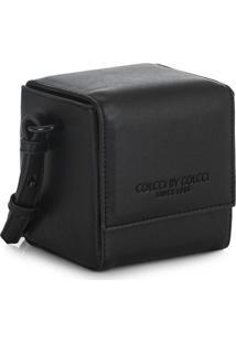 Bolsa Crossbody Cubo Preta