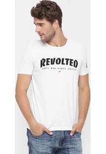 Camiseta Ellus People Are Poison - Masculino-Off White