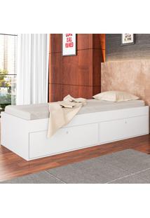 Cama De Solteiro Com 4 Portas Tókio Cm800 - Art In Móveis - Branco