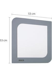 Espelho Quadrado Astra Viena Europa 53X53Cm