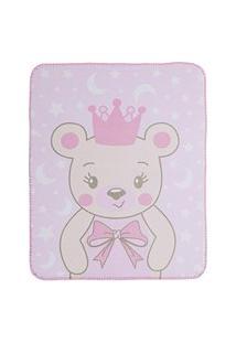Cobertor Estampa Localizada Encanto - Ursa Princesa Bambi