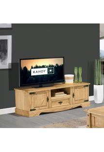 Rack Para Tv Até 42 Polegadas 2 Portas 1 Gaveta E Nicho Country Rústico Artemobili Cera