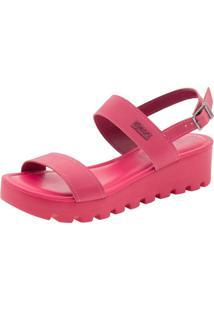 Sandália Feminina Flatform Pink Dijean - 471125