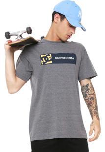 Camiseta Dc Shoes Swaze Cinza