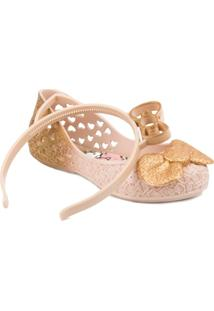 Sapatilha Hello Kitty Grendene Glitter - Feminino
