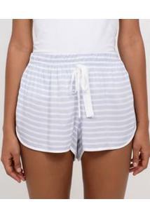 Short De Pijama Listrado