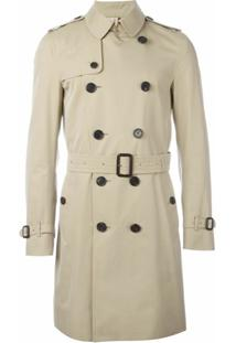 Burberry Trench Coat Abotoamento Duplo - Neutro