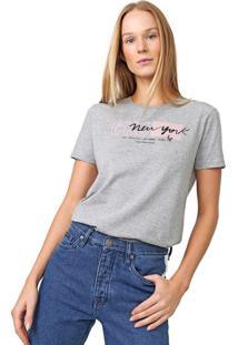 Blusa Calvin Klein Jeans New York Cinza